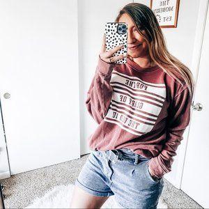 PINK VS Indiana university pullover
